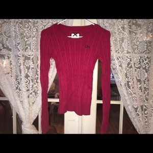 Pink Gilly Hicks sweater (XS)